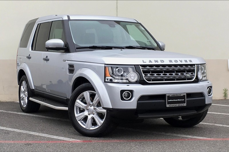 Certified Pre-Owned 2016 Land Rover LR4 HSE With Navigation