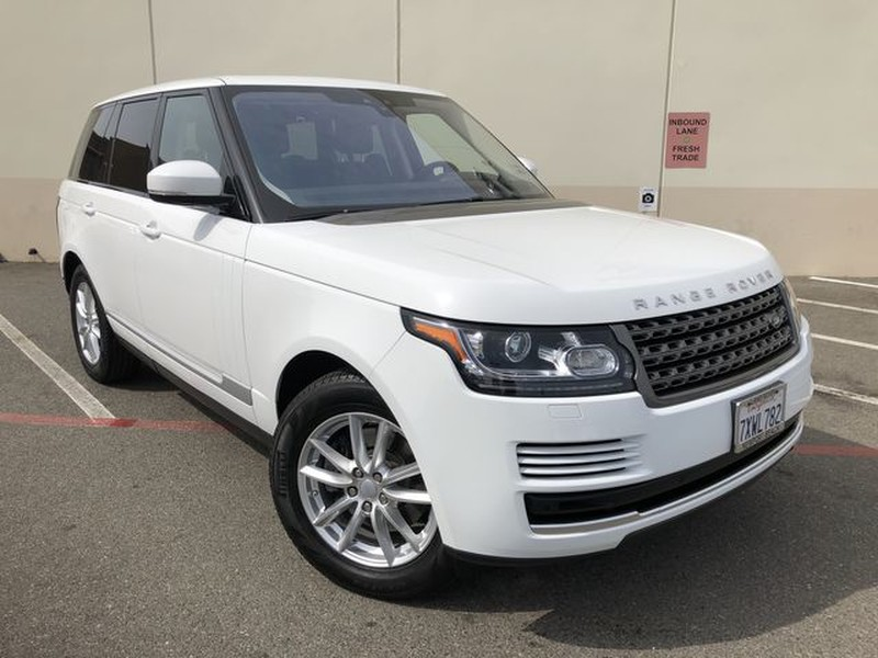 Certified Pre Owned 2017 Land Rover Range